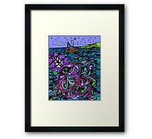 Oceans Mystery Framed Print