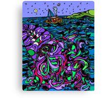 Oceans Mystery Canvas Print