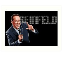 Jerry Seinfeld - Comedy Legend Art Print