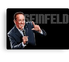 Jerry Seinfeld - Comedy Legend Canvas Print