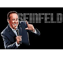 Jerry Seinfeld - Comedy Legend Photographic Print