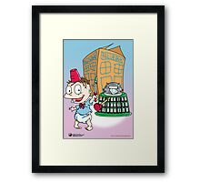 Tommy Who Framed Print