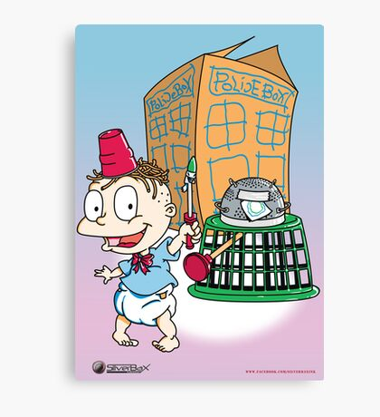 Tommy Who Canvas Print