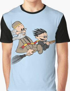 Master and Wizard Graphic T-Shirt