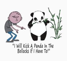 Karl Pilkington - I Will Kick A Panda In The Bollocks If I Have To! by KarlPilkington