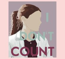 I Don't Count by curiouserme