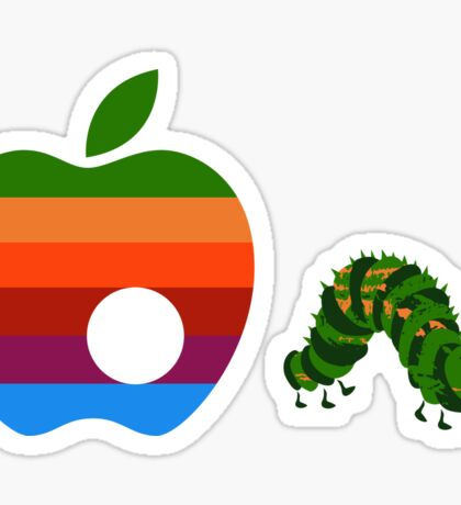 Very Hungry for Apple Sticker