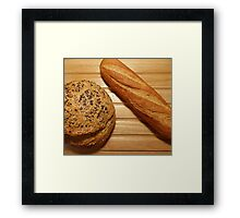 French Bread...............Just Add The Cheese Board Framed Print