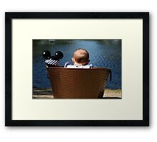 Mia-Lynn and Mickey Framed Print