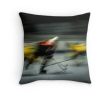 Demons On Wheels Throw Pillow