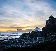 Jones' Beach, Minnamurra NSW Australia by Paul Cudina