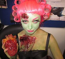 Zombie Pin Up  by Creationsviaamy