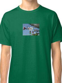 Bark, Apricot Blossom and Blue Sky Classic T-Shirt
