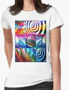 surf down under Womens Fitted T-Shirt