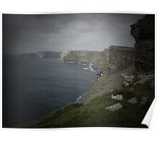 Cliffs of Moher through pinhole camera Poster