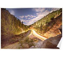 Boulder Canyon Dreamin Poster