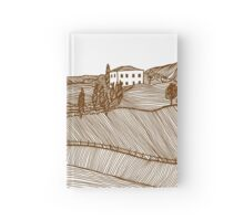 Tuscany Landscape Hardcover Journal