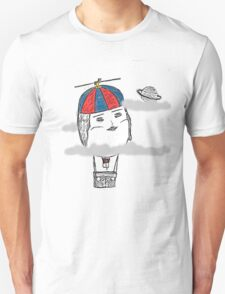Hot Ego Balloon: Colour, Clouds Unisex T-Shirt