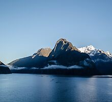 Milford Sound, NZ by Paul Cudina