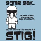 The Stig - Threw Microwave at Tramp by jimcwood