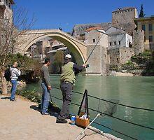 The Bridge at Mostar. by MigBardsley