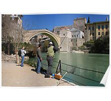 The Bridge at Mostar. Poster