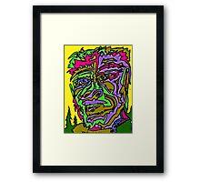 Yeti Man Framed Print