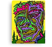 Yeti Man Canvas Print