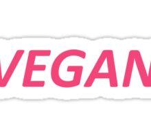Vegan T-shirt Sticker