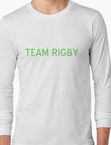 Team Rigby T-Shirt - CoolGirlTeez Long Sleeve T-Shirt