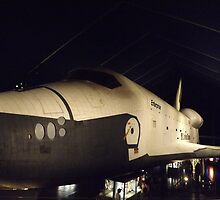 Space Shuttle Enterprise, Intrepid Sea Air and Space Museum, New York City by lenspiro