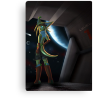 Myphrill - Defender Canvas Print