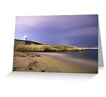 Night Time under the Stars Greeting Card