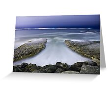 Smooth Flowing Greeting Card