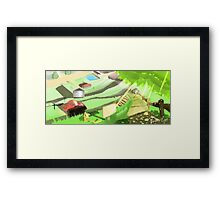 Pokemon - Viridian City Framed Print