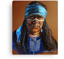 """Blue Hawk"" Canvas Print"