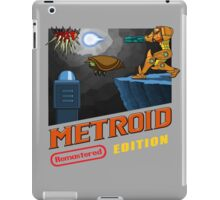 Metroid Remastered (Cover Art) iPad Case/Skin