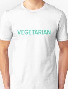 Vegetarian T-Shirt - CoolGirlTeez Unisex T-Shirt