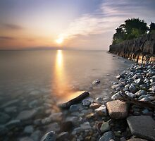 Sunrise over Lake Ontario by Rob Smith