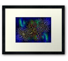 ©DA Spheres Fractal F-AI Framed Print