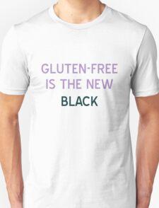 Gluten-Free is the New Black T-Shirt - CoolGirlTeez Unisex T-Shirt