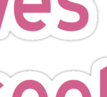 Loves to Cook T-Shirt - CoolGirlTeez Sticker