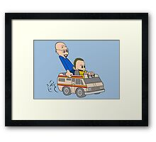 Jesse & Mr White Framed Print
