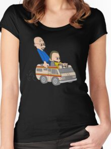 Jesse & Mr White Women's Fitted Scoop T-Shirt