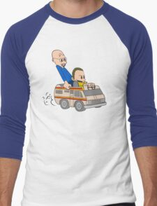 Jesse & Mr White Men's Baseball ¾ T-Shirt