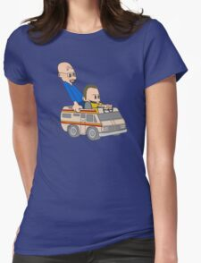 Jesse & Mr White Womens Fitted T-Shirt