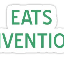 Eats Conventional T-Shirt- CoolGirlteez Sticker