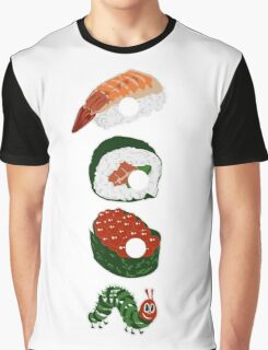 Very Hungry Sushi Graphic T-Shirt