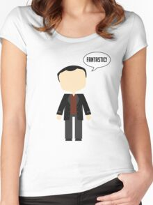 Ninth Doctor Women's Fitted Scoop T-Shirt