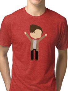 Happy Eleventh Doctor Tri-blend T-Shirt